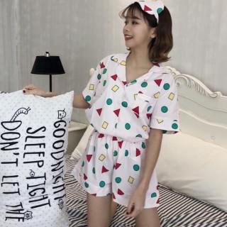 在庫限り ショートパンツ パジャマ ピンク M(パジャマ)