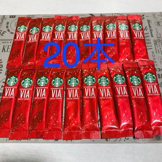 スターバックスコーヒー(Starbucks Coffee)の20本☆スタバ ヴィア  クリスマスブレンド 20本(コーヒー)