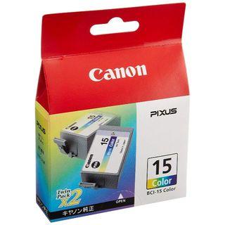 キヤノン(Canon)の【新品】 Canon 純正 インクタンク BCI-15 カラー(2個パック)(PC周辺機器)