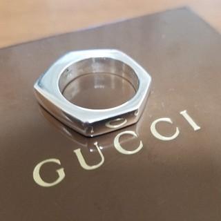 グッチ(Gucci)の[正規品] GUCCI グッチ シルバー リング 14号 鏡面研磨済(リング(指輪))