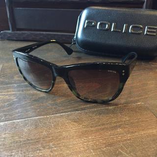 ポリス(POLICE)のポリス デザイン サングラス★police イタリア製 ストリート モダン(サングラス/メガネ)