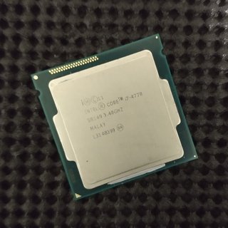 CPU  Intel CPU Core i7-4770(Haswell)(PCパーツ)