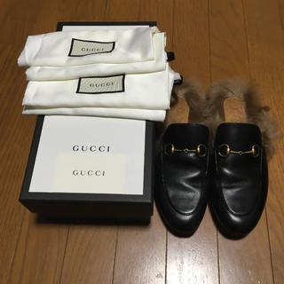 グッチ(Gucci)のGUCCI プリンスタウン レザースリッパ(その他)