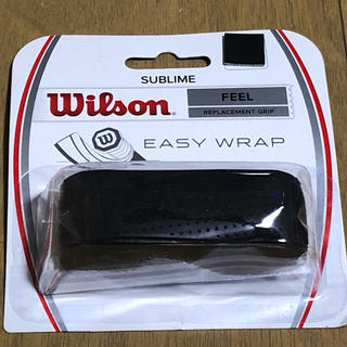 ウィルソン(wilson)の☆ちょっと値下☆ウィルソンテニスリプレイスメントグリップ 新品未使用品 送料無料(ラケット)