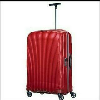 サムソナイト(Samsonite)のコスモライト サムソナイト 超軽量 中型 スーツケース レッド 赤 68リットル(スーツケース/キャリーバッグ)