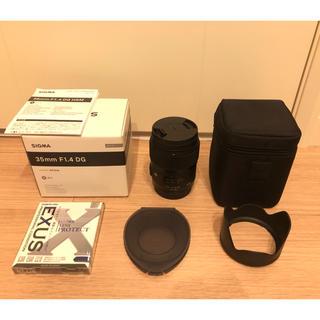 シグマ(SIGMA)のSIGMA 35mm F1.4 DG HSM|Art (Canon用)(レンズ(単焦点))