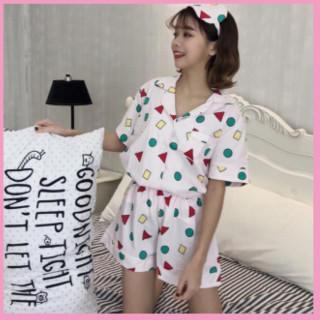 【タイムSALE】ショートパンツ パジャマ ピンク M(パジャマ)