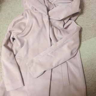 ピンク ビックフード  コート (ピーコート)