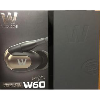 westone w60 6BA mmcx ウエストン イヤホン (ヘッドフォン/イヤフォン)