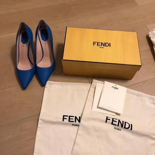 フェンディ(FENDI)のfendi ポインテッドトゥ パンプス/39 未使用(ハイヒール/パンプス)