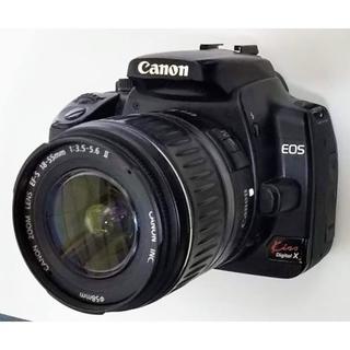 キヤノン(Canon)のCanon EOS Kiss Didital X Wズームセット(ブラック)(デジタル一眼)