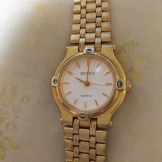 グッチ(Gucci)のグッチ 時計 アンティーク オールドグッチ ゴールド(腕時計)