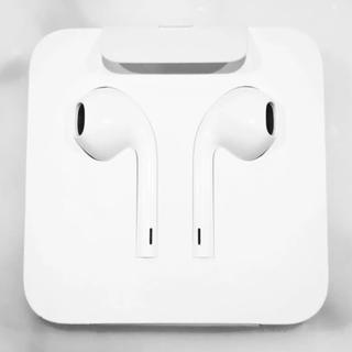 アップル(Apple)のiPhone Apple 純正 イヤホン 新品未使用(ヘッドフォン/イヤフォン)