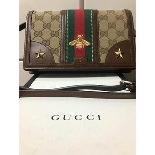 グッチ(Gucci)の正規品GUCCI🐝⋆゜ウォレットショルダー(ショルダーバッグ)