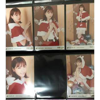西野七瀬 生写真 5種コンプ 2018クリスマス、帰り道は遠回りしたくなる(写真)