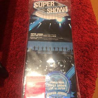 スーパージュニア(SUPER JUNIOR)のSuper  Junior SUPER SHOW4 DVD(K-POP/アジア)