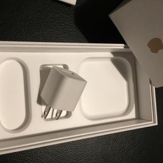 【新品】Apple iPhone用 ACアダプター 送料込み(バッテリー/充電器)
