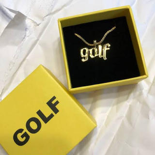 18k GOLF WANG OLDE GOLF NECKLACE (ネックレス)
