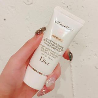 ディオール(Dior)のDior  スノーブライトニング フレッシュCCクリーム 50 010(ファンデーション)