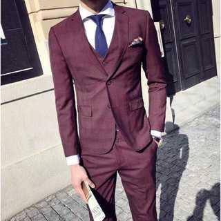 メンズスーツ 結婚式 セットアップ 二次会 スーツジャケット zb442(セットアップ)