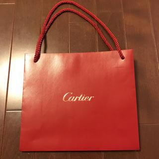 カルティエ(Cartier)の高級ブランドカルティエのショッパー(ショップ袋)