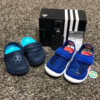 アディダス(adidas)のアディダス スポーツ サンダル / クロックス サンダル まとめセット 15cm(サンダル)