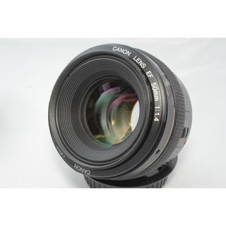 ニコン(Nikon)の☆美品☆ Canon キヤノン EF 50mm F1.4 USM(レンズ(単焦点))