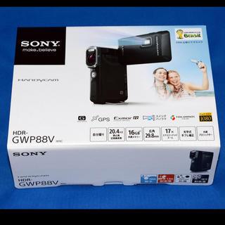 ソニー(SONY)のSONY  GWP88V プロジェクター機能 防水防塵 ビデオカメラ(ビデオカメラ)
