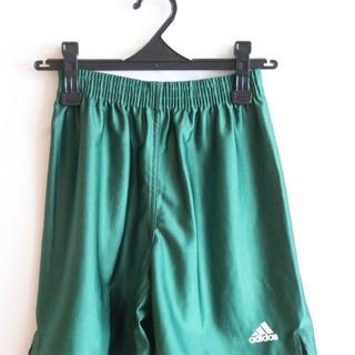 アディダス(adidas)の5(7) adidas サッカーパンツ Sサイズ 緑色(ウェア)