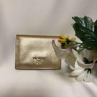 PRADA - ☆正規品☆プラダ 2つ折り財布 コンパクト