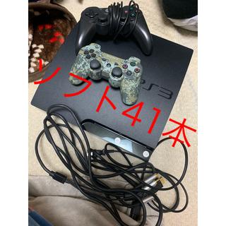プレイステーション3(PlayStation3)のPs3 cech2000a ソフト39本セット(家庭用ゲーム本体)