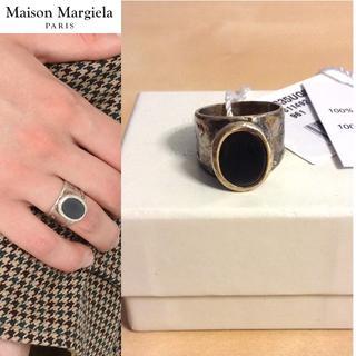 マルタンマルジェラ(Maison Martin Margiela)の新品■L■マルジェラ 17aw■オパールリング■シルバー■指輪■5209(リング(指輪))