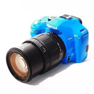 ★WifiSDでスマホ転送★PENTAX K-X オーダーカラーブルー(デジタル一眼)