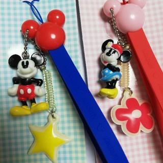Disney - ミッキーマウス ミニーマウス ストラップ