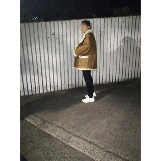 ◆ リアルムートン ◆ ムートンコート 本革 ジャケット 羊革(レザージャケット)