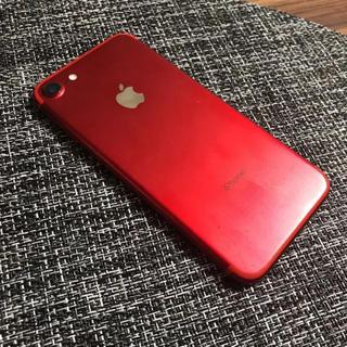 アップル(Apple)の【美品】iPhone7 128gb simフリー(スマートフォン本体)