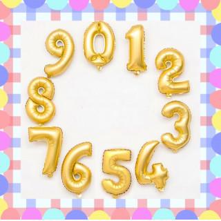 40㎝数字バルーン!399円(その他)
