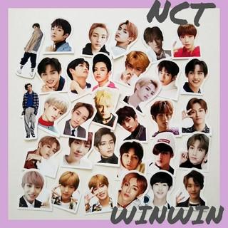 NCT ウィンウィン フレークシール(アイドルグッズ)
