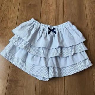 GU - GU ジーユー 女の子 スカートパンツ スカパン  美品 140