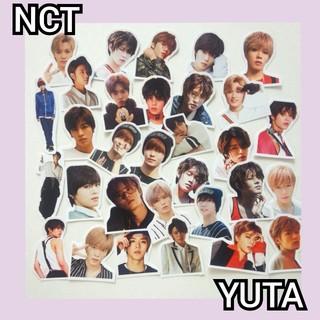 NCT ユウタ フレークシール(アイドルグッズ)