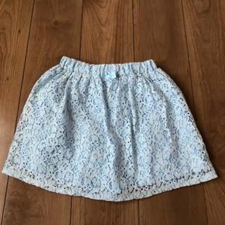 ジーユー(GU)のGU ジーユー 女の子 スカートパンツ スカパン  美品 140(パンツ/スパッツ)