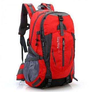 ◆最安◆大容量 バックパック レッド 35L 多機能 防水 通気性(バッグパック/リュック)
