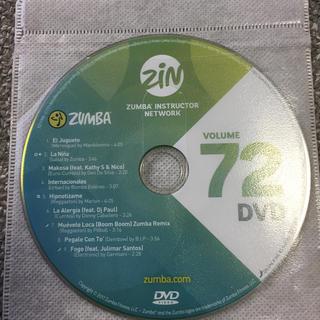 ズンバ(Zumba)のzin72  DVD(スポーツ/フィットネス)