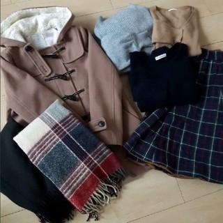 ジーユー(GU)の秋冬物レディース服(セット/コーデ)