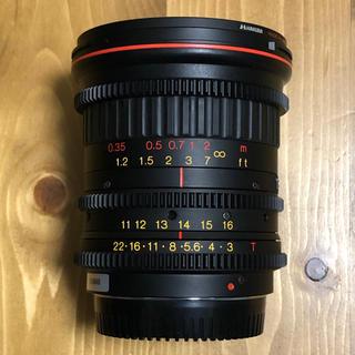 キヤノン(Canon)のTokina CINEMA ATX Zoom Lens 11-16 EFマウント(レンズ(ズーム))