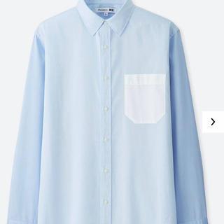ユニクロ(UNIQLO)のユニクロ×JW ANDERSON 無地切り替えシャツ S メンズ /アンダーソン(シャツ)