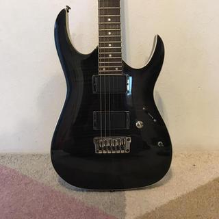 アイバニーズ(Ibanez)のIbanez アイバニーズ ギター エレキギター 黒 ブラック 虎杢(エレキギター)