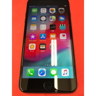 アップル(Apple)の[中古]iPhone7plus 128GB au ジェットブラック(スマートフォン本体)