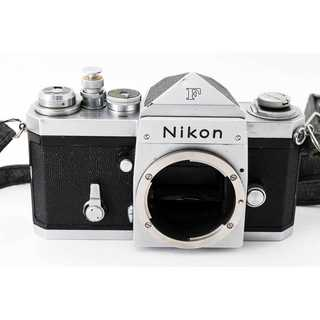 ニコン(Nikon)の★ Nikon ニコン F アイレベル シルバー シャッターOK #2284C (フィルムカメラ)
