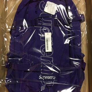 シュプリーム(Supreme)のsupreme backpack purple(バッグパック/リュック)